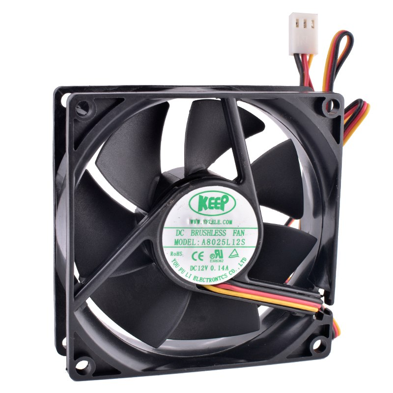 Keep A8025l12s 12v 0 03a Dc Brushless Cooling Fan Fan Cards