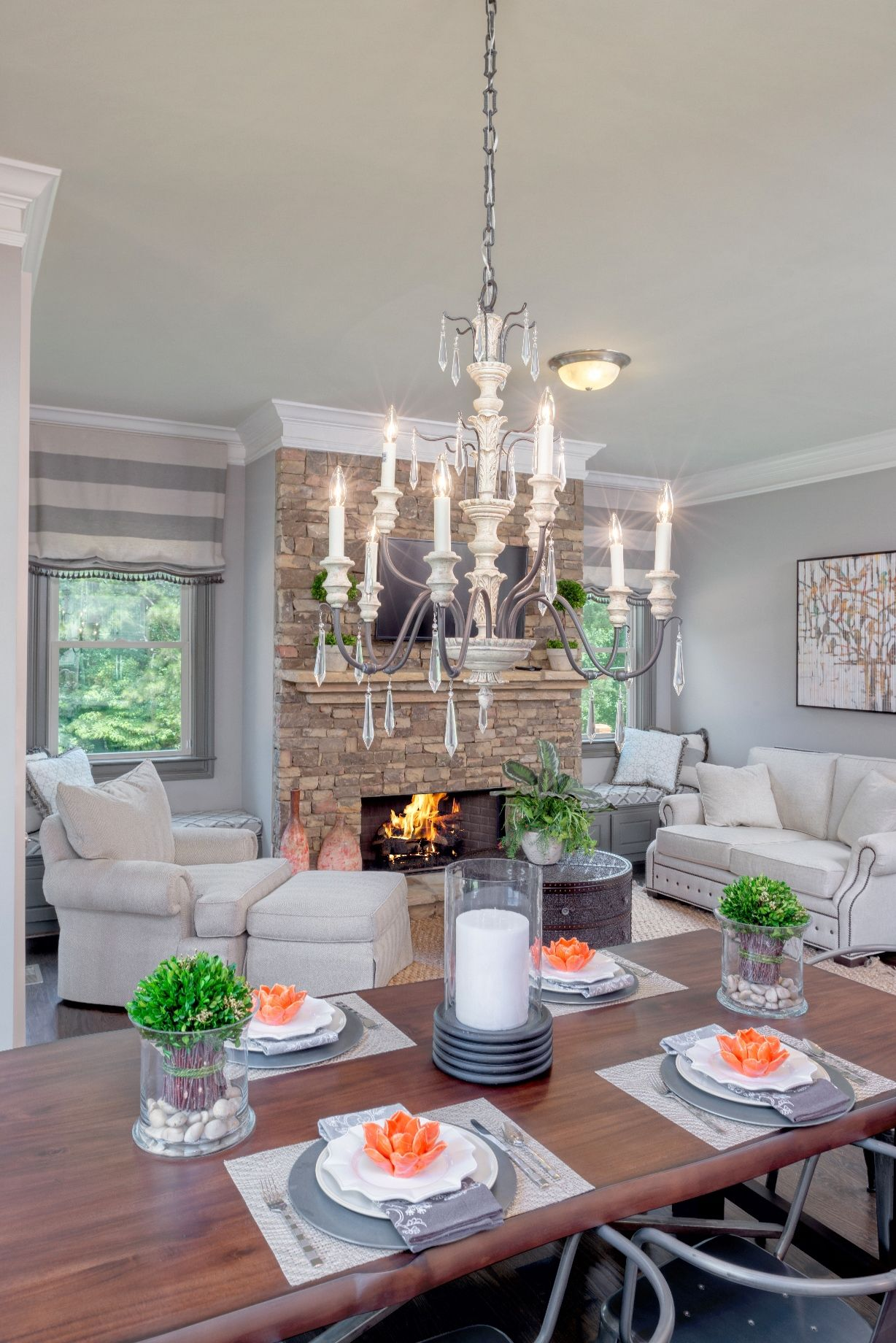 Kitchen Sitting Rooms Designs: Everyone Needs An Elegant Keeping Room #tratonhomes (With