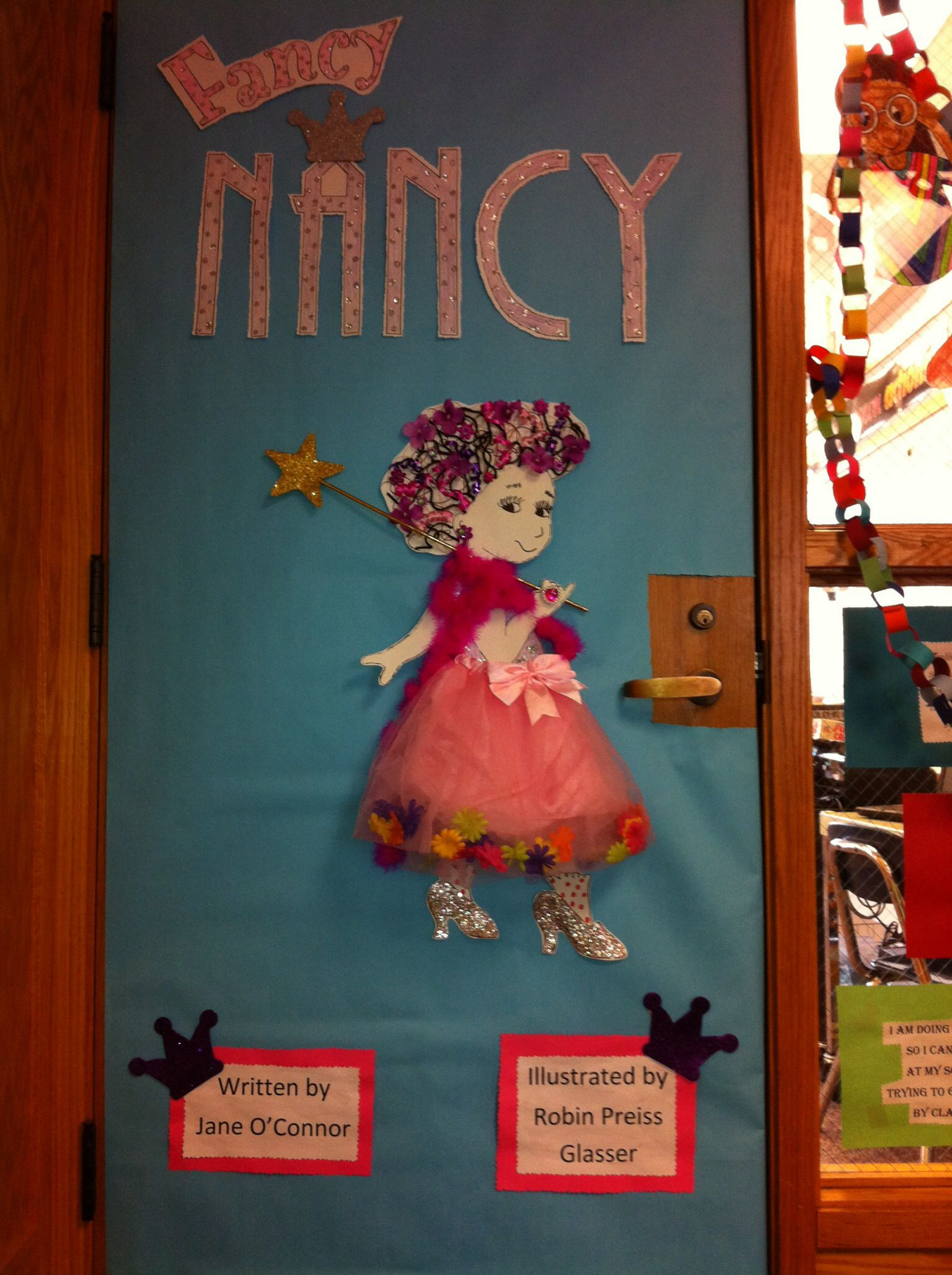 Door Decorations Fancy Nancy For Read Across America