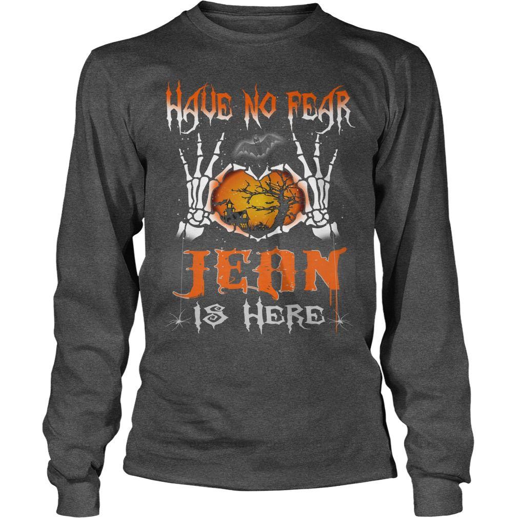 Halloween shirts jean is here name halloween tshirt gift ideas