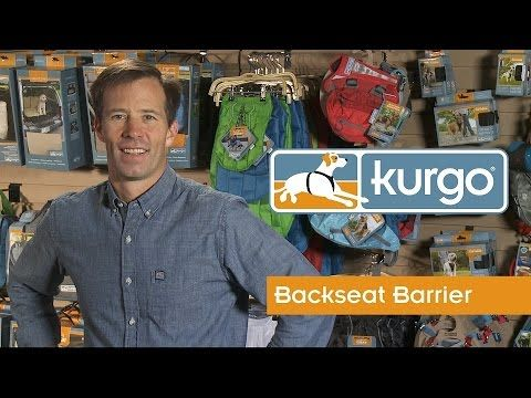 How to Install the Kurgo Backseat Barrier for Dogs - YouTube