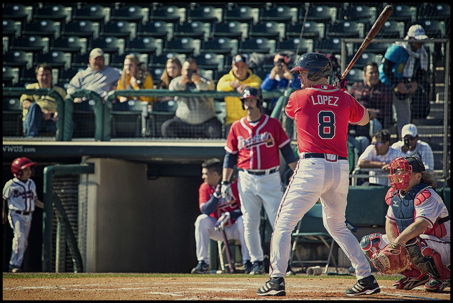 Javy Lopez Atlanta Braves Braves Baseball