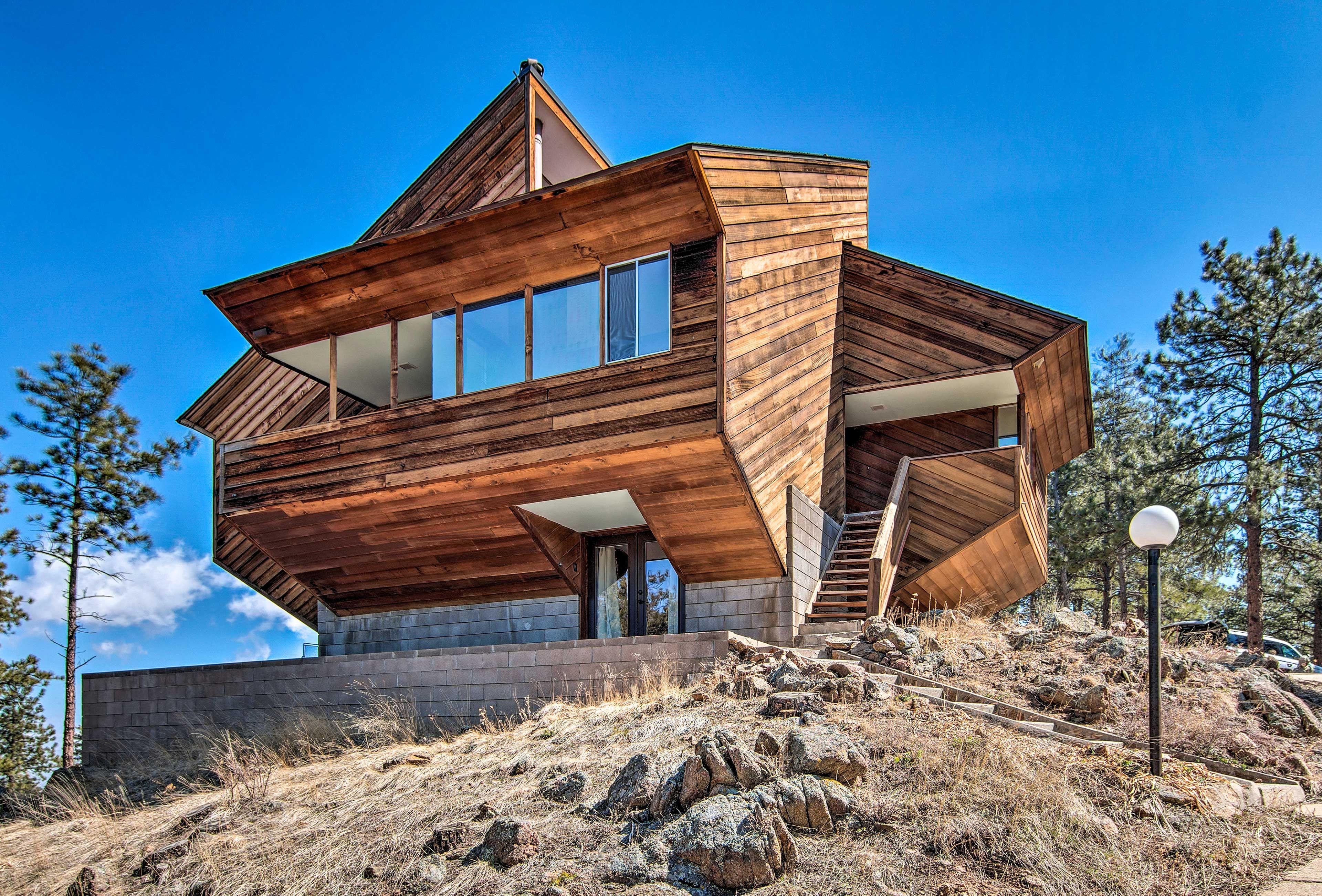 Luxe Boulder Barrett House On Mtn Peak W Hot Tub Colorado Vacation Rentals Bouldering Colorado Vacation