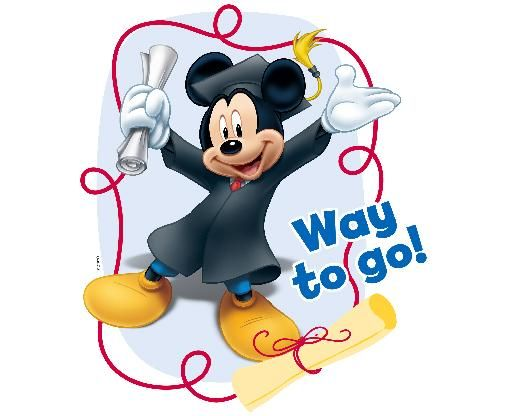 Mickey Mouse Clubhouse Graduation Edible Clipart Disney