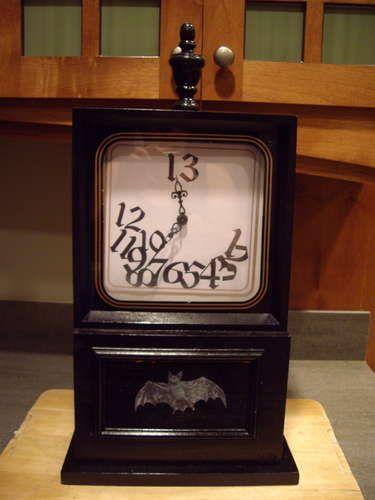 how to make a clock run backwards