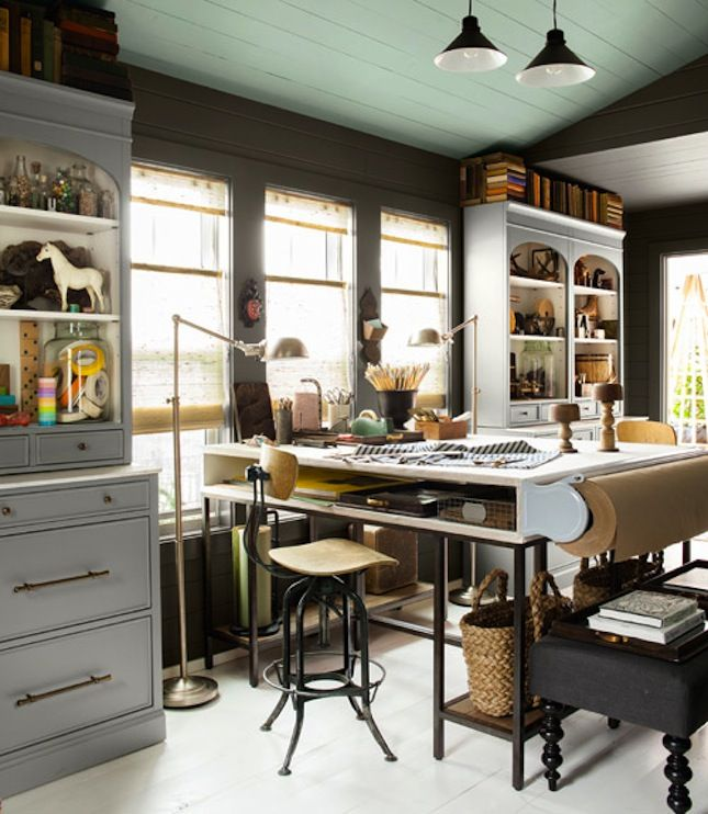 office space inspiration. Creative Studios And Craft Room Inspiration Office Space