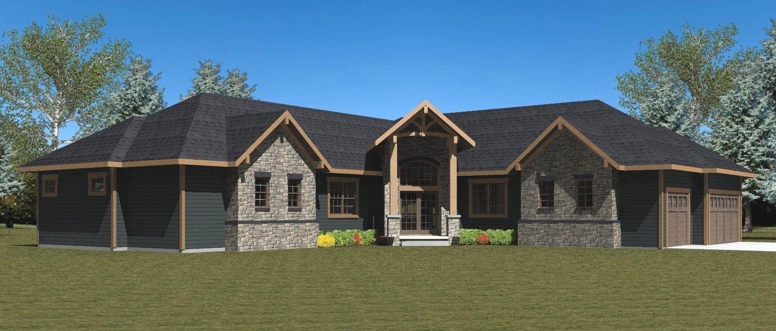 Plan 552200 - Ryan Moe Home Design | ons huis | Pinterest | House