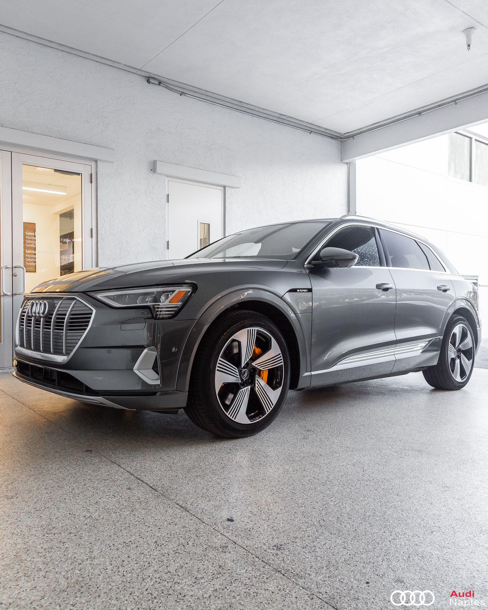 Our First 2019 E Tron Has Arrived Audi E Tron Audi Audi Dealership