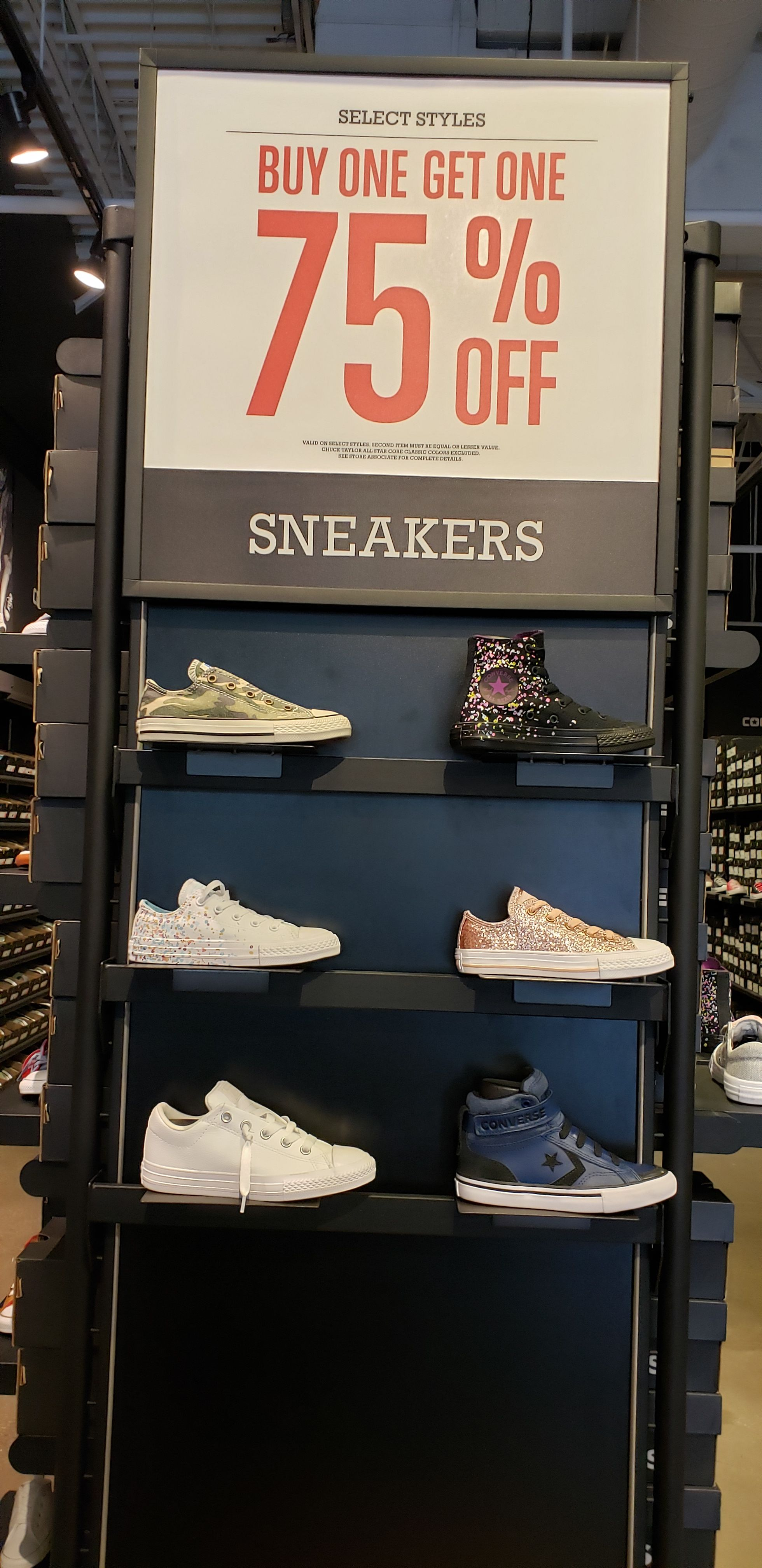 off Sneakers. Exclusions may apply
