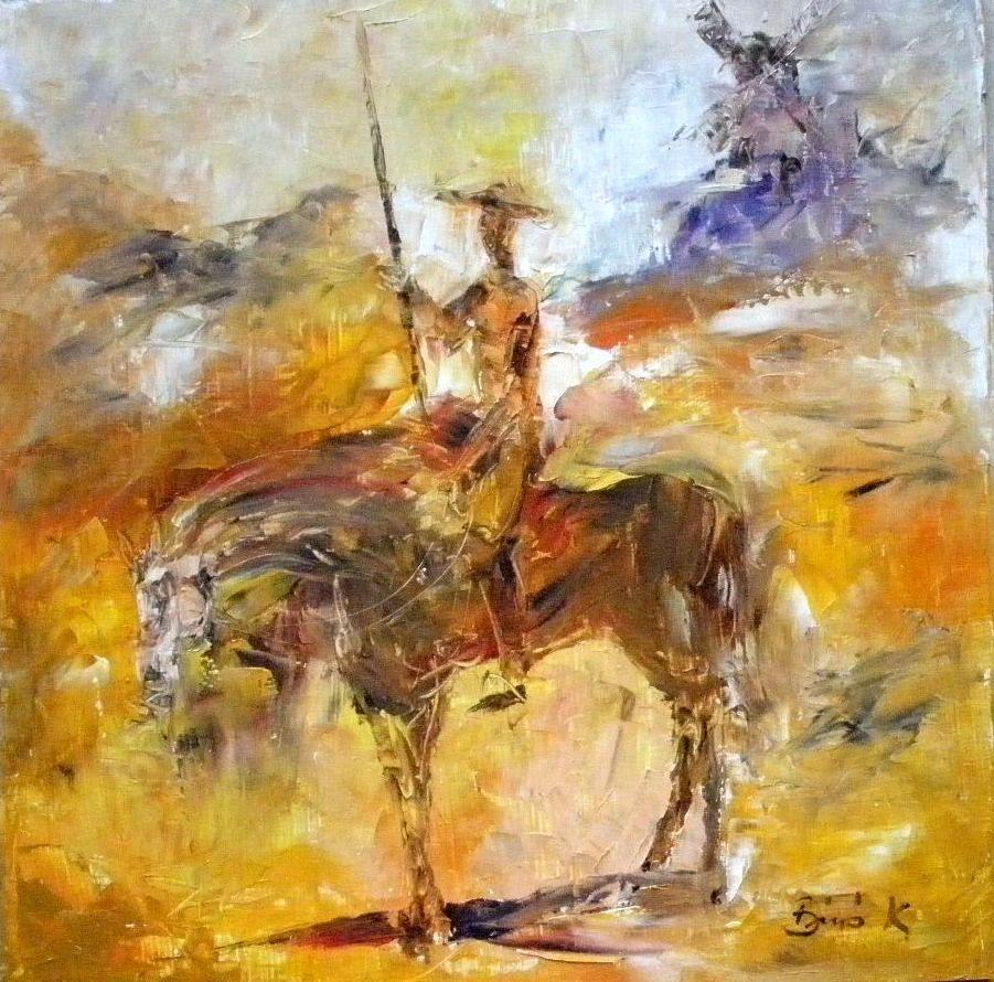 Konrad Biro Art Don Quixote Series