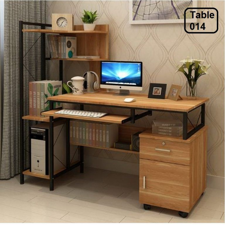 Desktop Computer Desk Simple Desk High Quality Materials 014 Minimalist Desk Desk Design Desktop Computer Desk