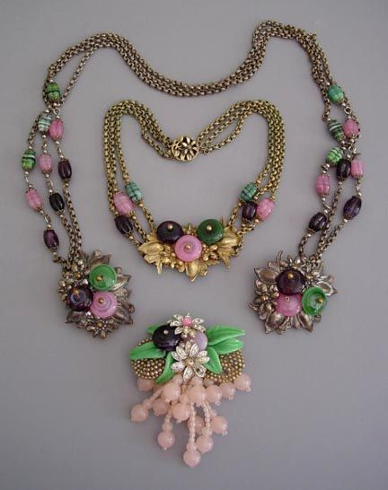 Miriam necklace vintage haskell
