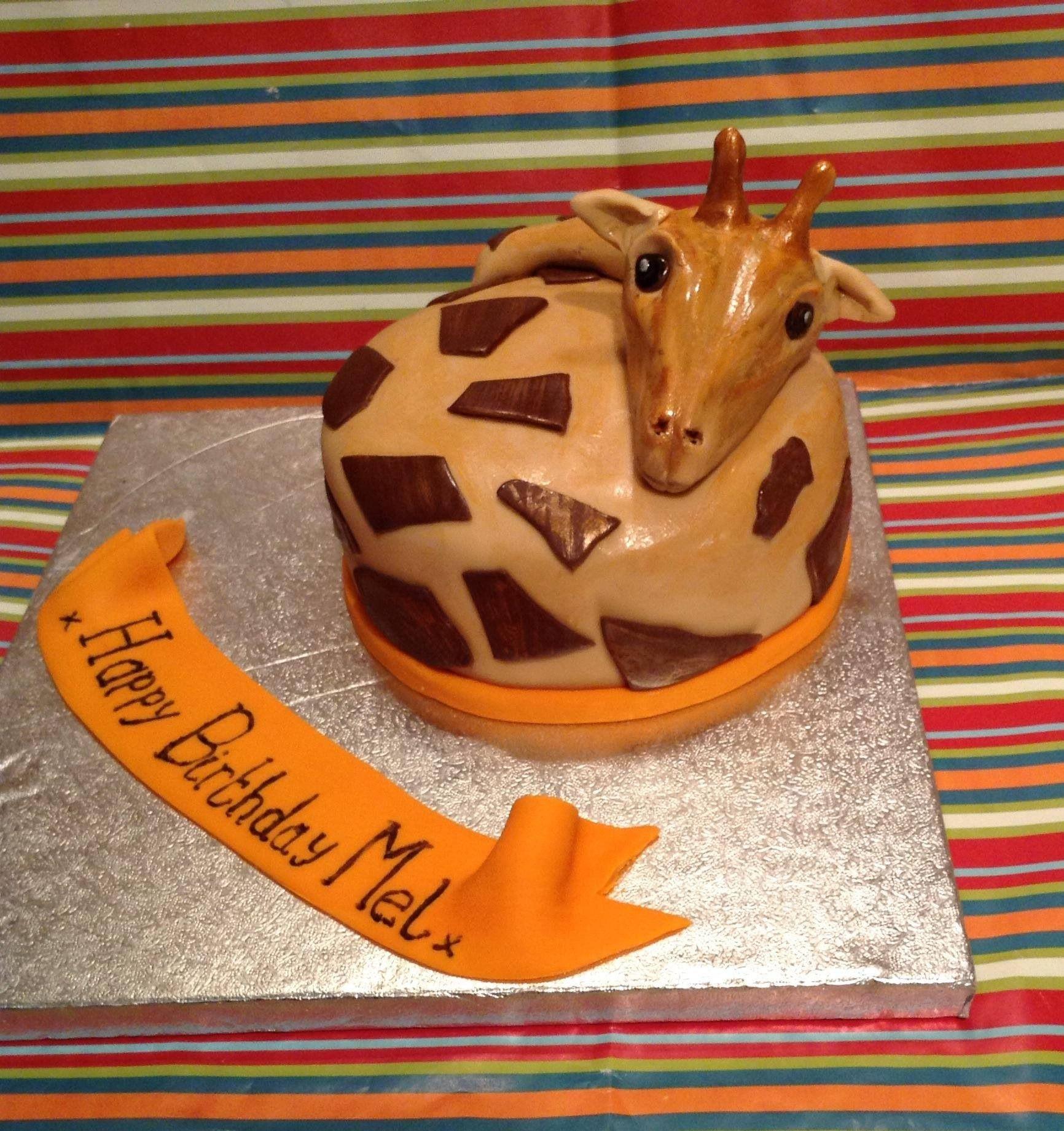 Another giraffe cake