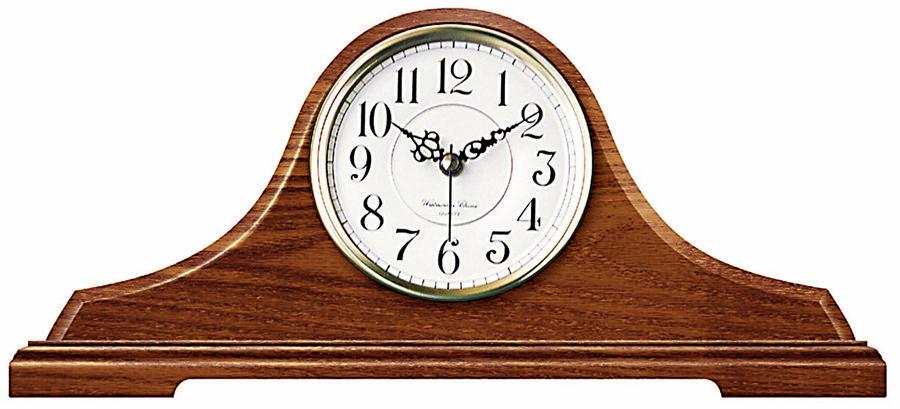 Oak Tambour Tabletop Clock By Infinity Instruments Solid Oak
