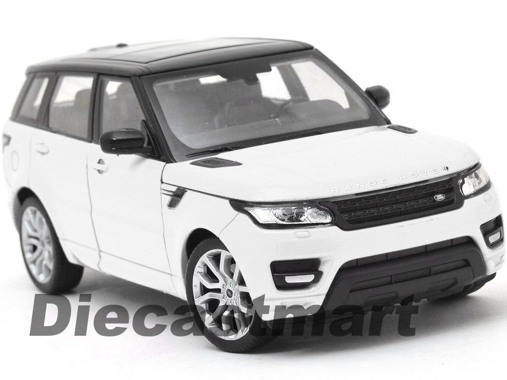 Welly 124 2015 range rover sport diecast model car suv white