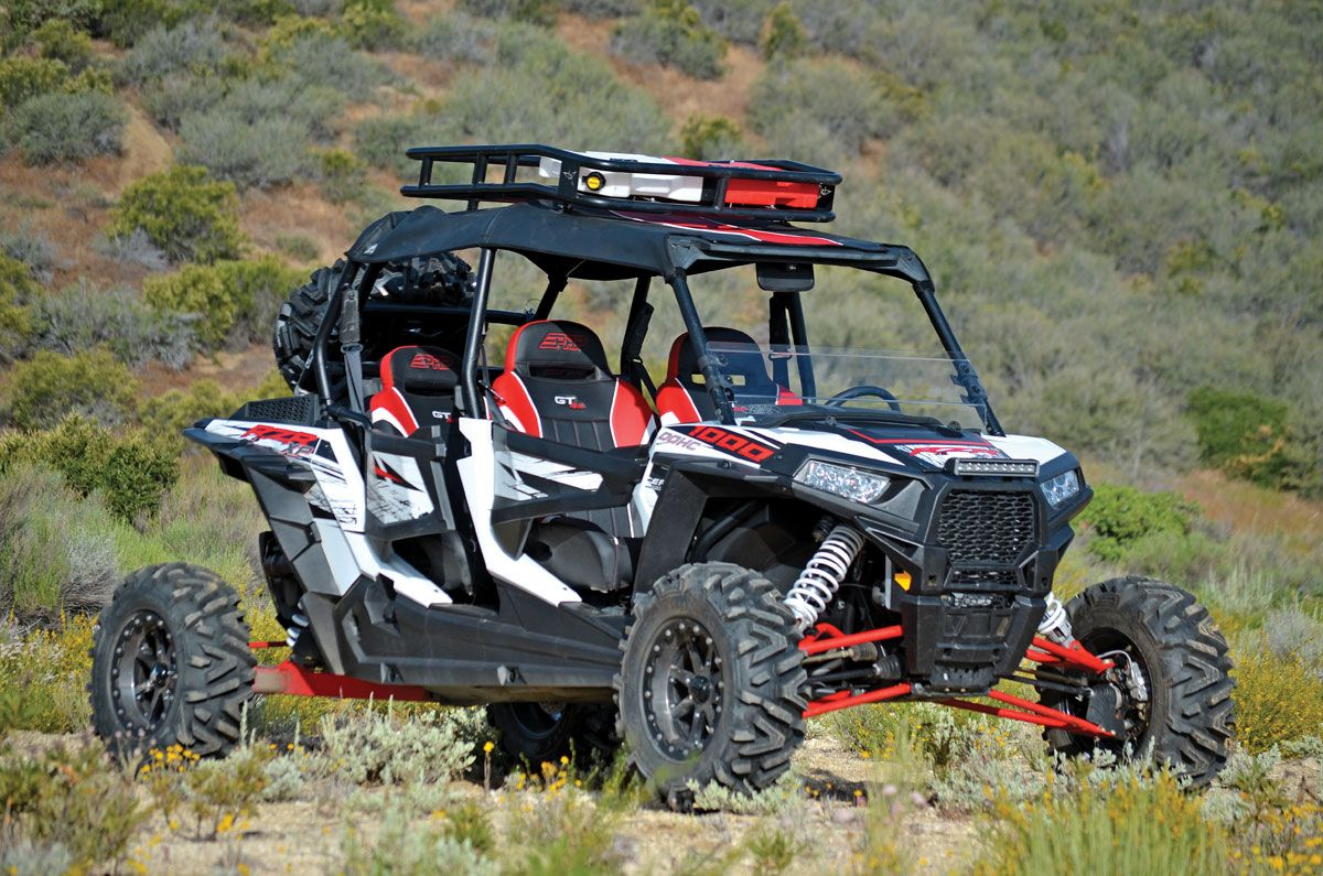 Another Roof Rack Idea Rzr Xp 1000 Dezert Pinterest