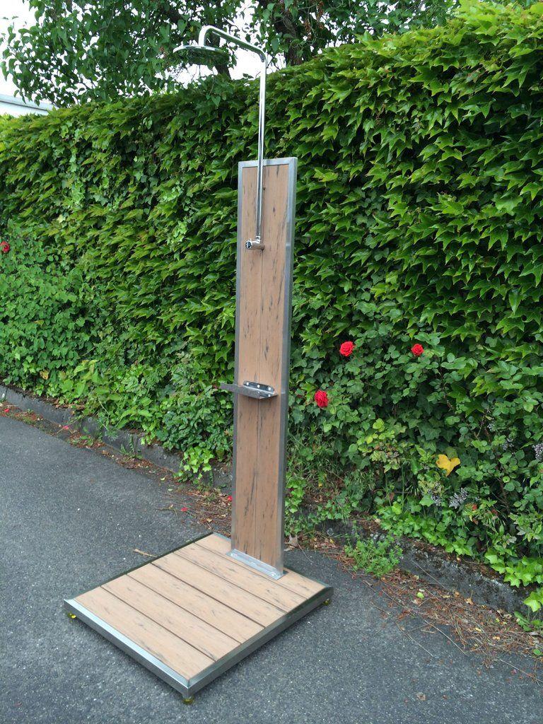 Pin by eeyoraus earthmuffin on outdoor showers and baths for Gartendusche bodenplatte