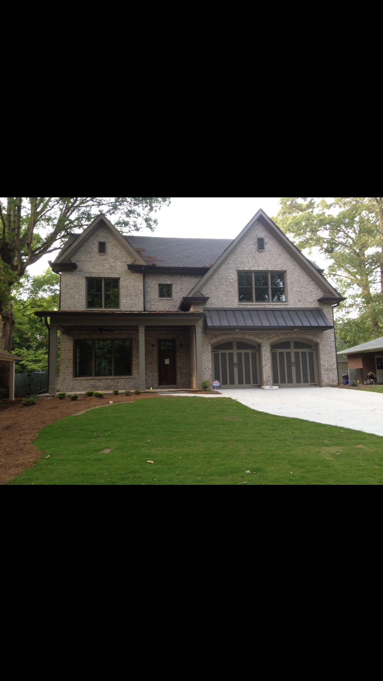 My house inspiration. Brick color and exterior paint colors.   Home ...