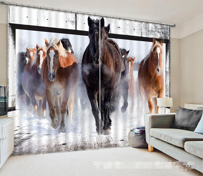 Horses 1034 Curtains D