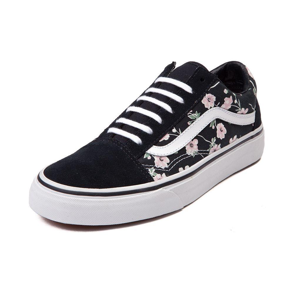 eb698325c9 Vans Old Skool Vintage Floral Skate Shoe
