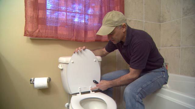 How To Keep Toilet Seat Screws From Rusting Toilet Seat Toilet Toilet Cleaning