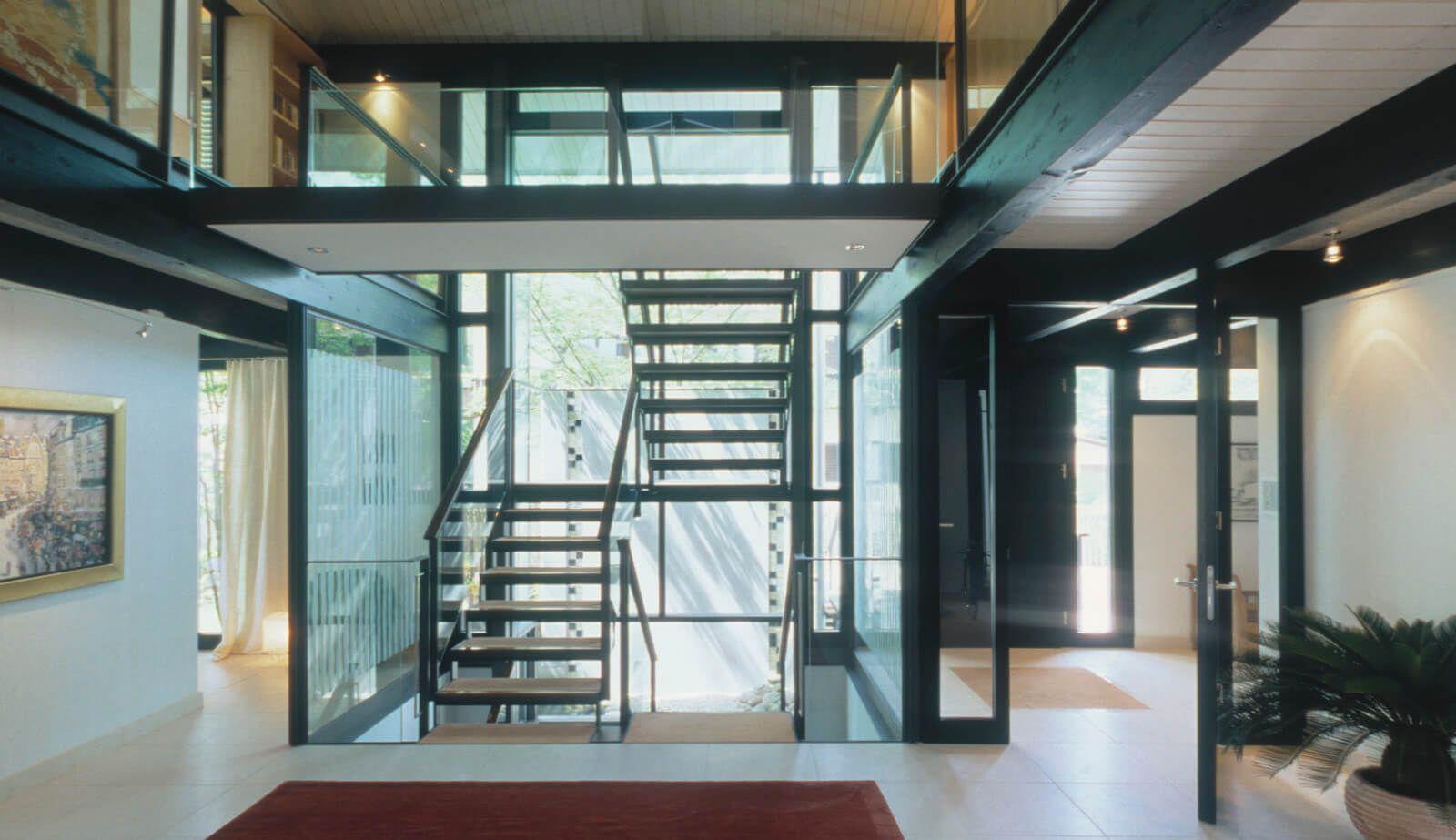 Haus Mit Höfen Atelierprojekt Mit Zwei Hauseinheiten Und