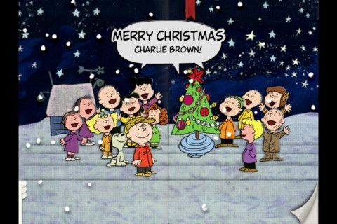 Charlie Brown Christmas <3 <3   LOVE me some Classic Christmas Cartoons :) :)