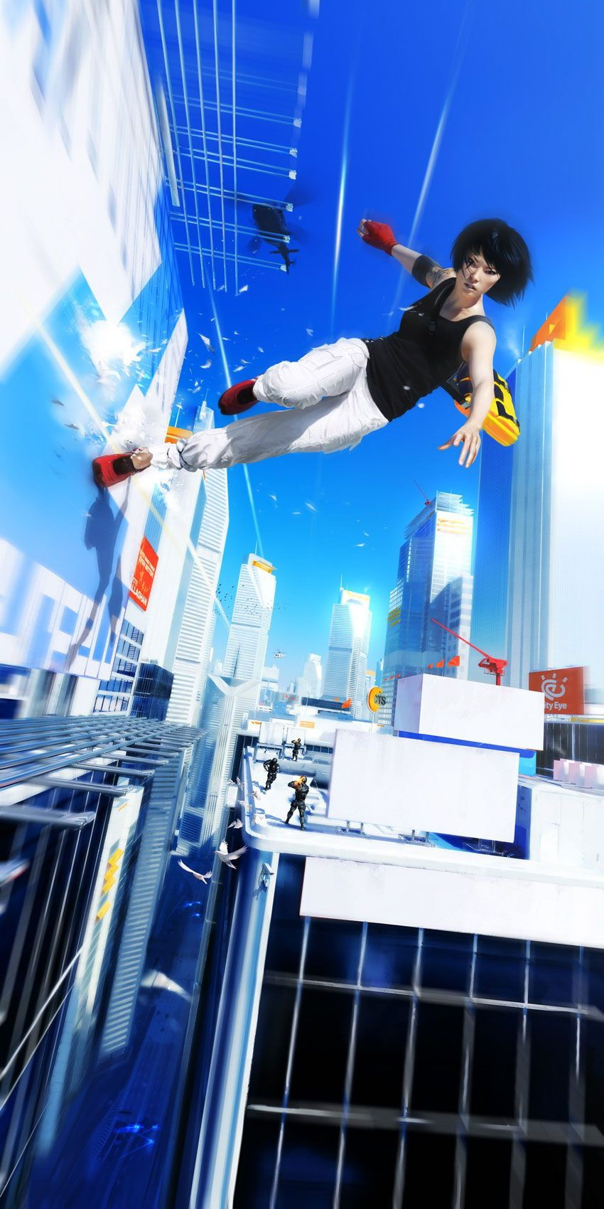 Mirror S Edge A Game Inspired By Big Brother In A Town