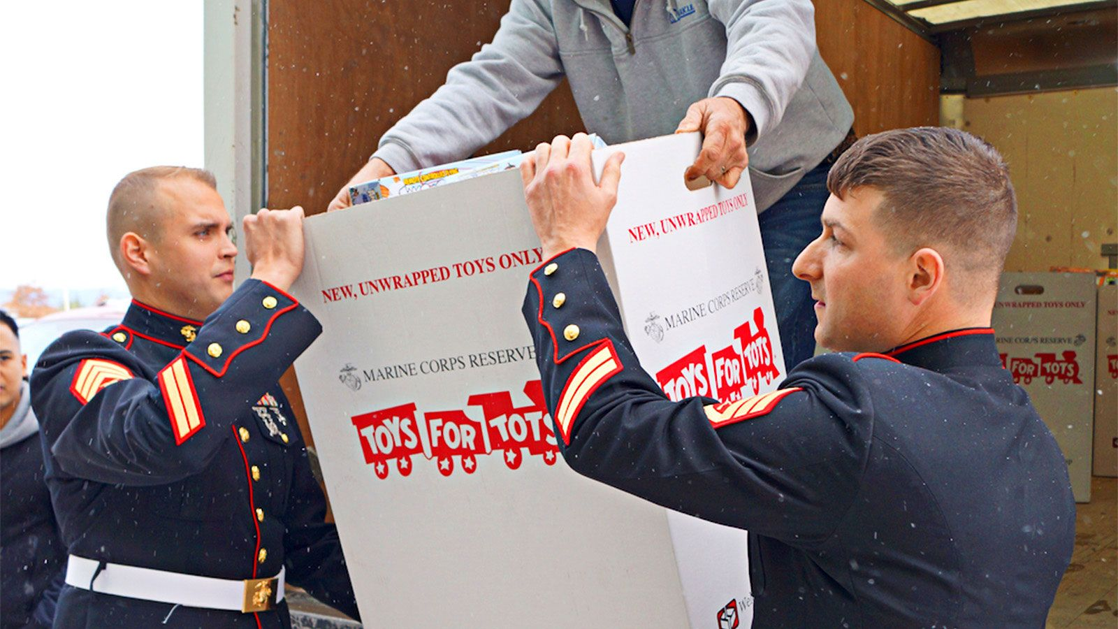 Toys for tots images  The Wyoming PA Toys for Tots campaign covers Bradford Lackawanna
