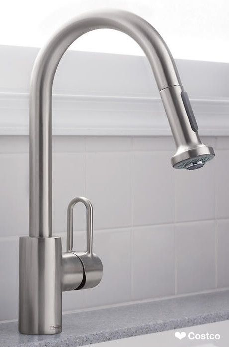 Hansgrohe Metro Higharc Kitchen Faucet With 2Function Pulldown Impressive Costco Kitchen Faucet Design Inspiration