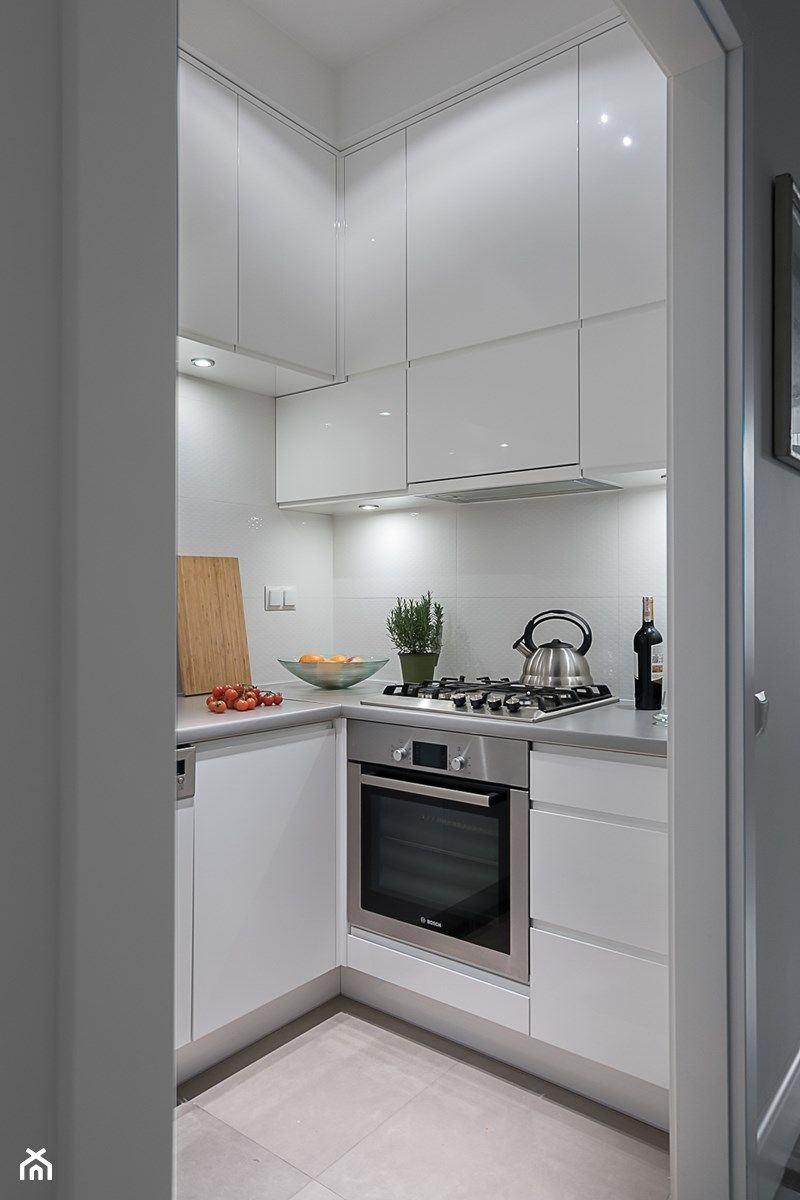 Mieszkanie Na Solcu Metamorfoza Mala Otwarta Zamknieta Kuchnia W