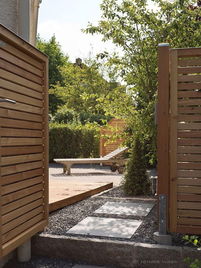 wwwrenate-waasde   sichtschutz_moderner-garten Terrasse - sichtschutz garten modern