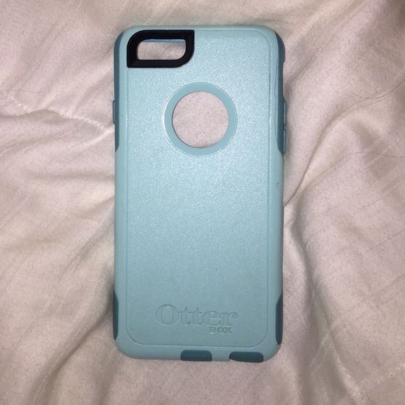 promo code 30273 25d02 iPhone 6/6s Otterbox Commuter Case Light blue and teal otter box ...