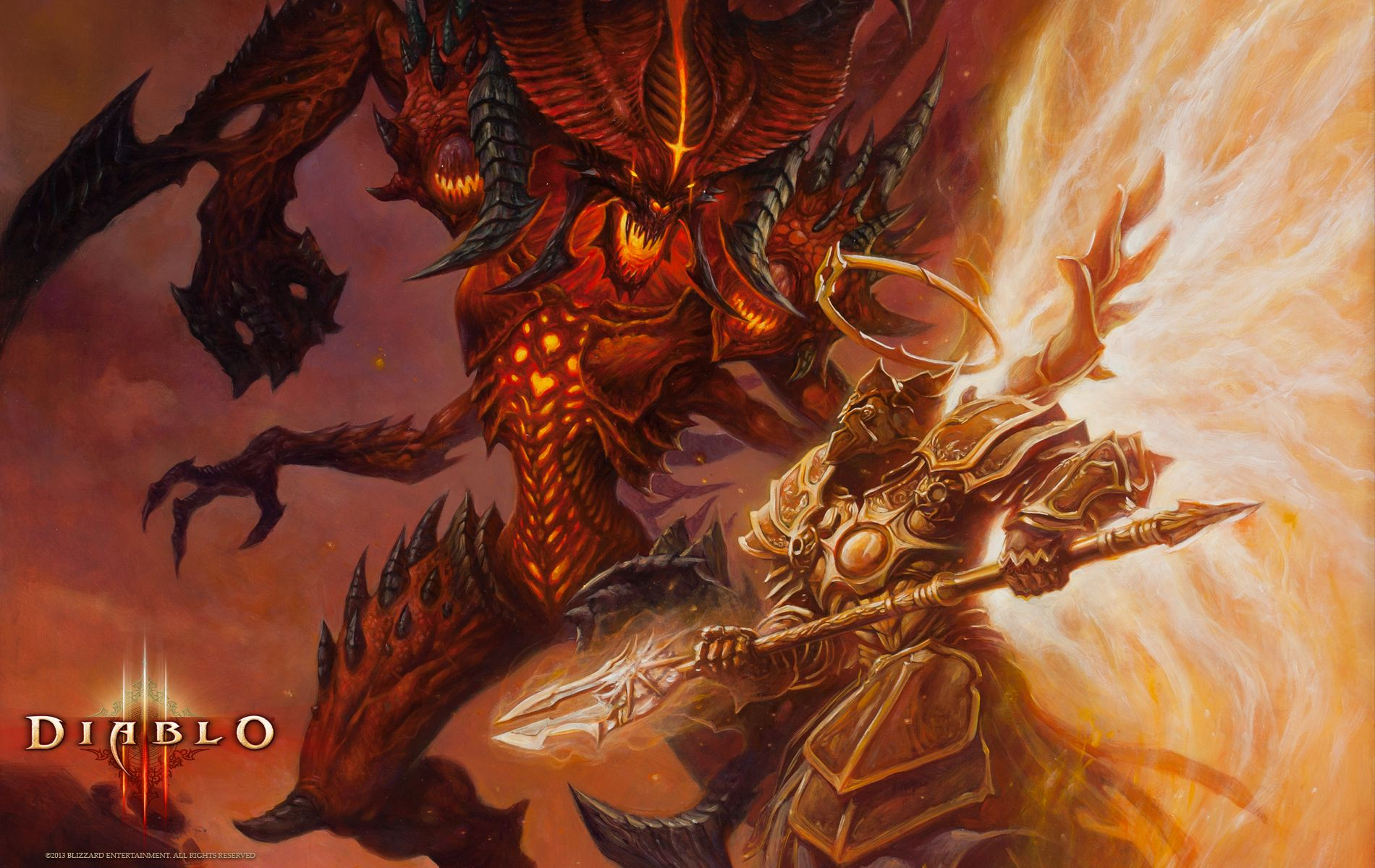 #29 Diablo 3 - http://1sthdwallpapers.com/29-diablo-3-hd-wallpapers/