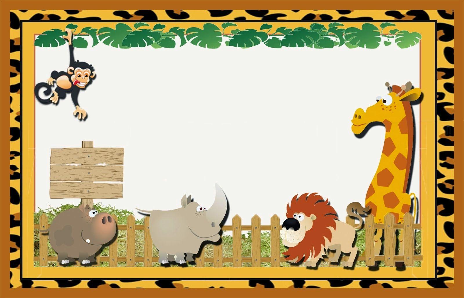 La Selva: Invitaciones para Imprimir Gratis. | decoracion ...