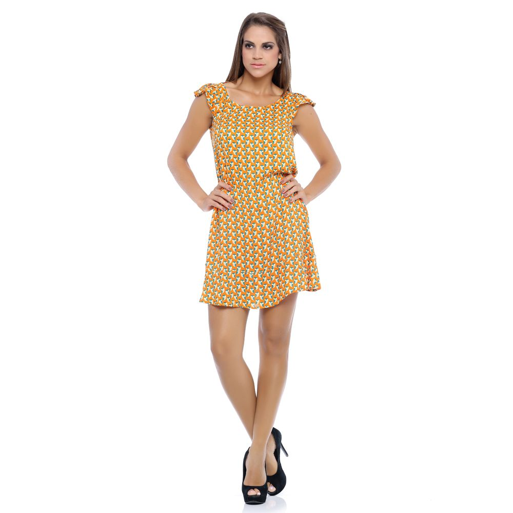 Vestido Corujas by Damyller <3