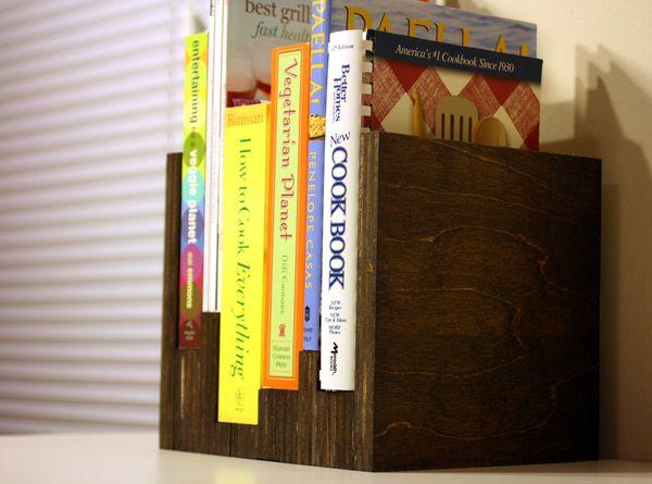 Make This Simple Countertop Bookshelf Bookcase Diy Bookshelves Diy Diy Bookshelf Plans