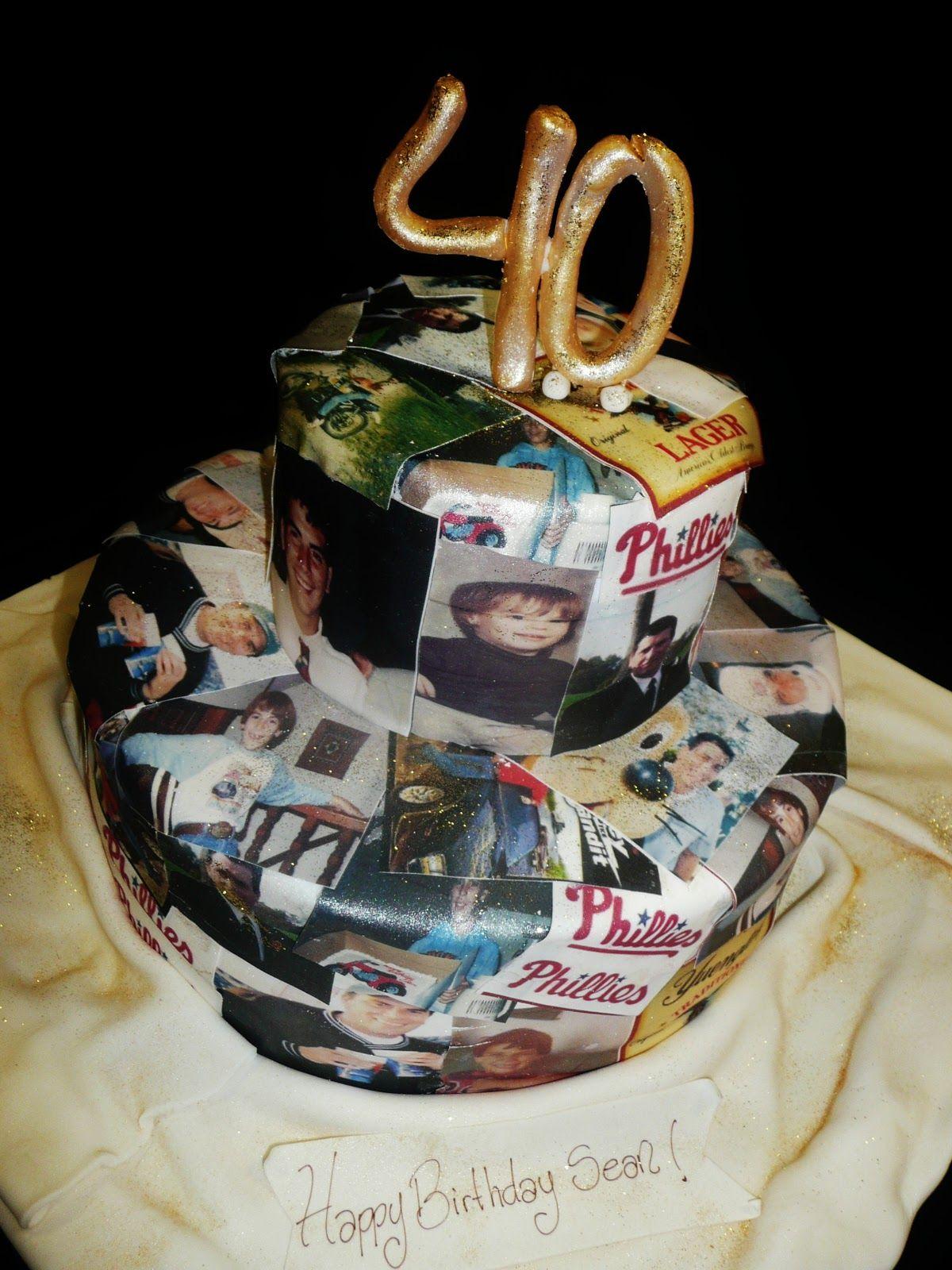 40th Birthday Cake 40th birthday