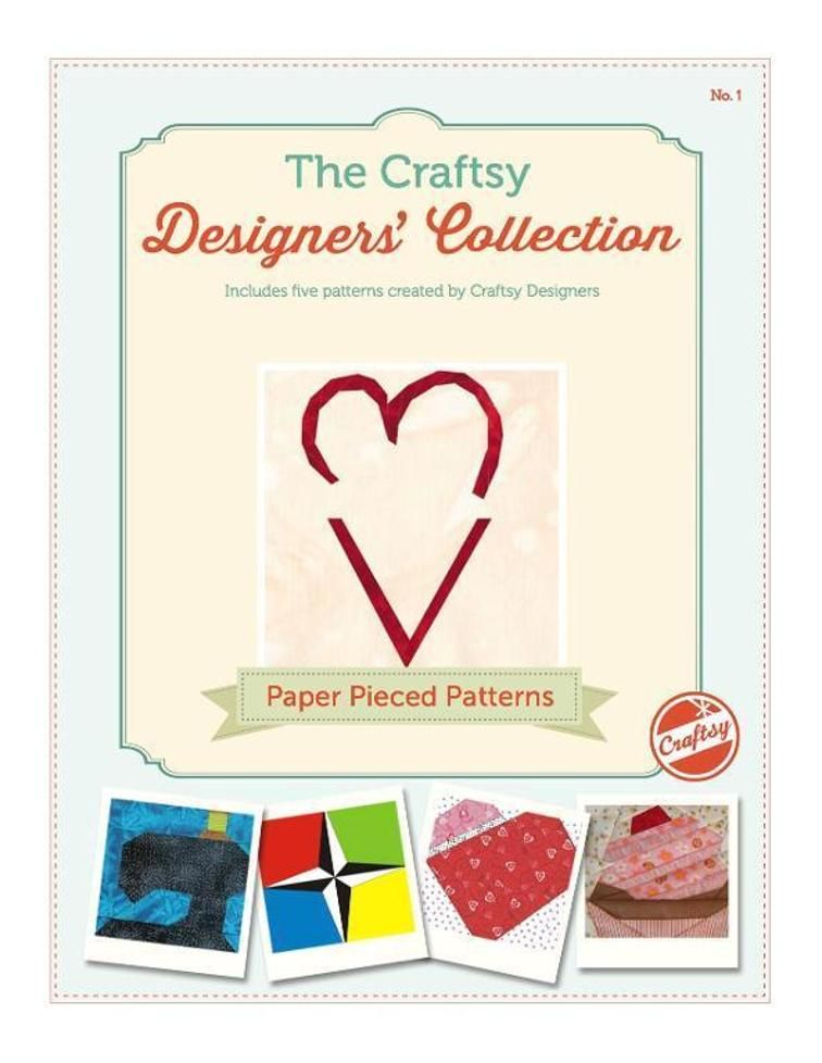 Free Paper Pieced Patterns eBook | PAPER PIECING | Pinterest | Papel ...