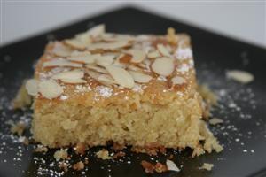 Magically Moist Almond Cake