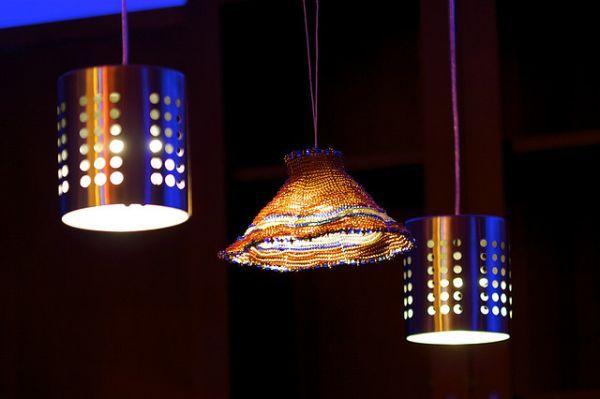 34 Creative Diy Lighting Ideas That You Can Make At Home Diy Chandelier Diy Crafts Lights Diy Light Fixtures
