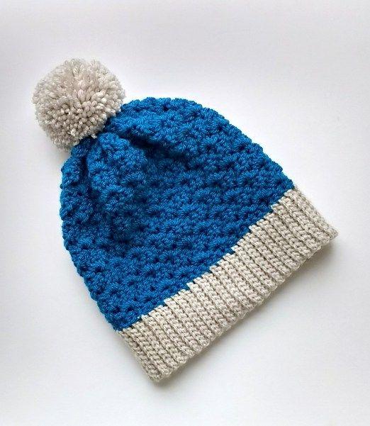 Primrose Slouchy Beanie Crochet Pattern