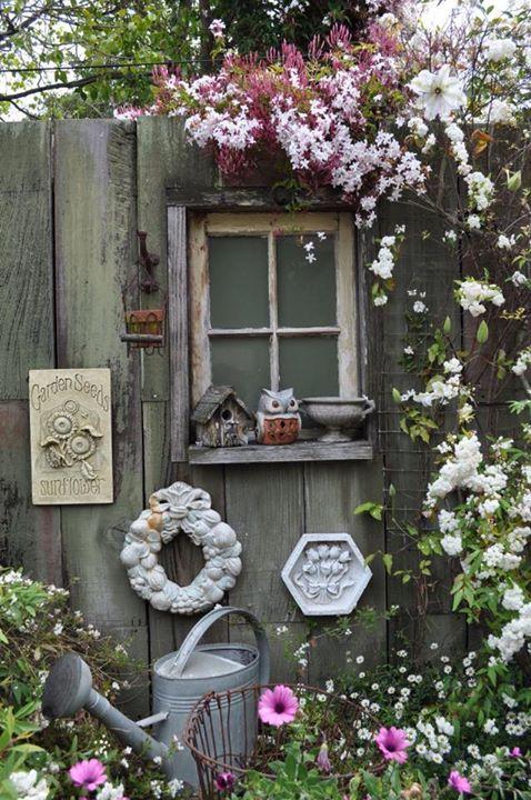 Recinzioni Per Giardino In Cemento.Fannyromantic Decorazioni Recinzione Giardino E Arte Per Giardini