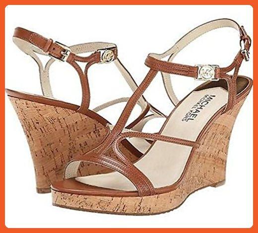 8609750d38c8 Michael Michael Kors Women s Cicely Cork Wedge Sandals