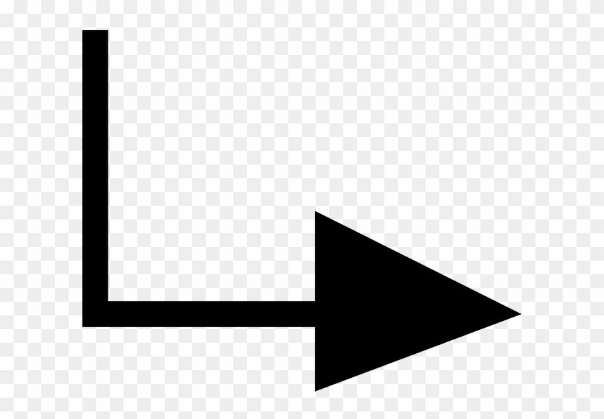 Right Arrow Down Text Pointing Arrows Redirect Arrow Down And To The Right Clipart 773612 Is A Creative Clipart Down Clip Art Creative Project Text