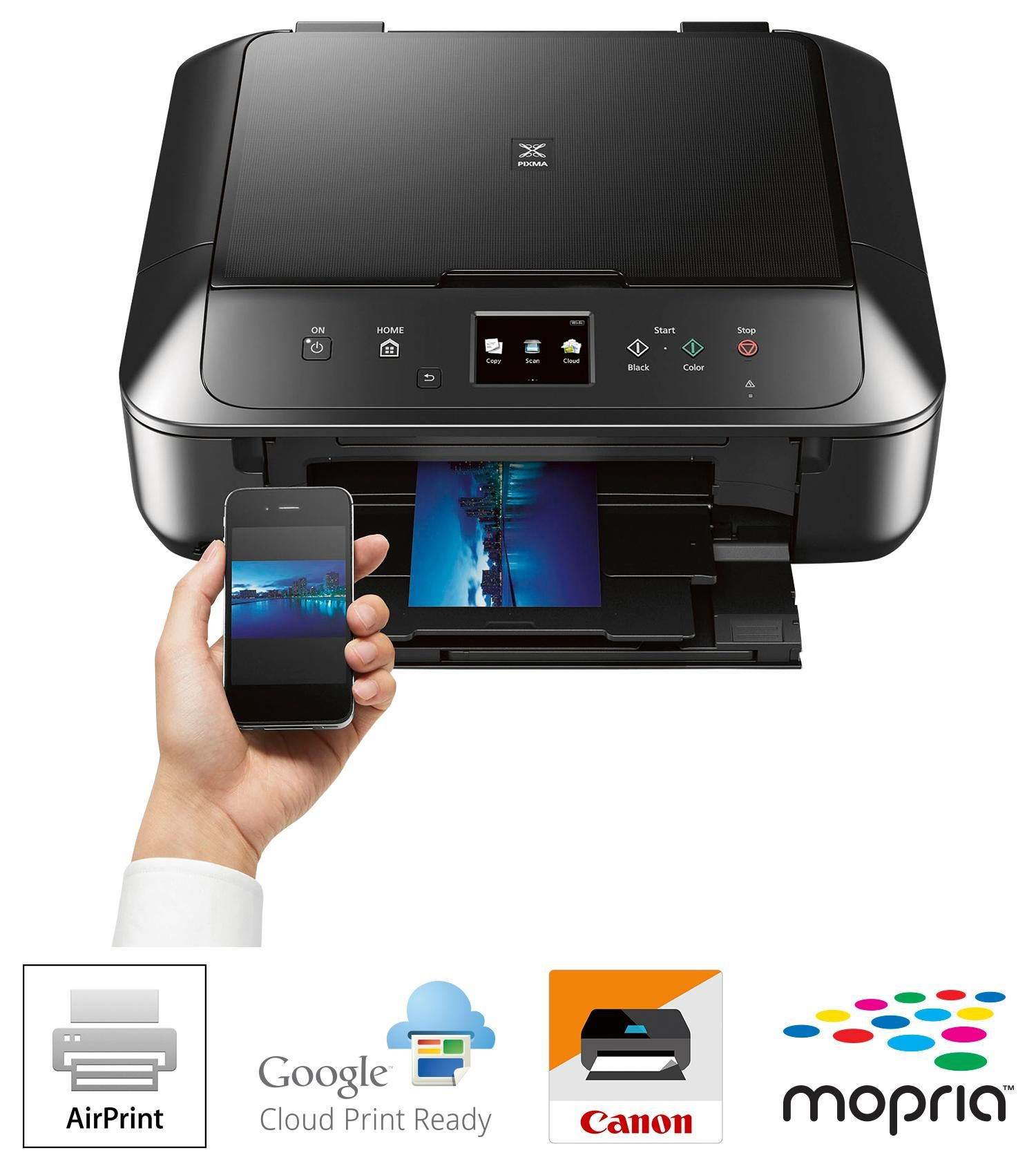 273cf64e869d Amazon.com: Canon MG6820 Wireless All-In-One Printer with Scanner and  Copier: Mobile and Tablet Printing with Airprint and Google Cloud Print  compatible, ...