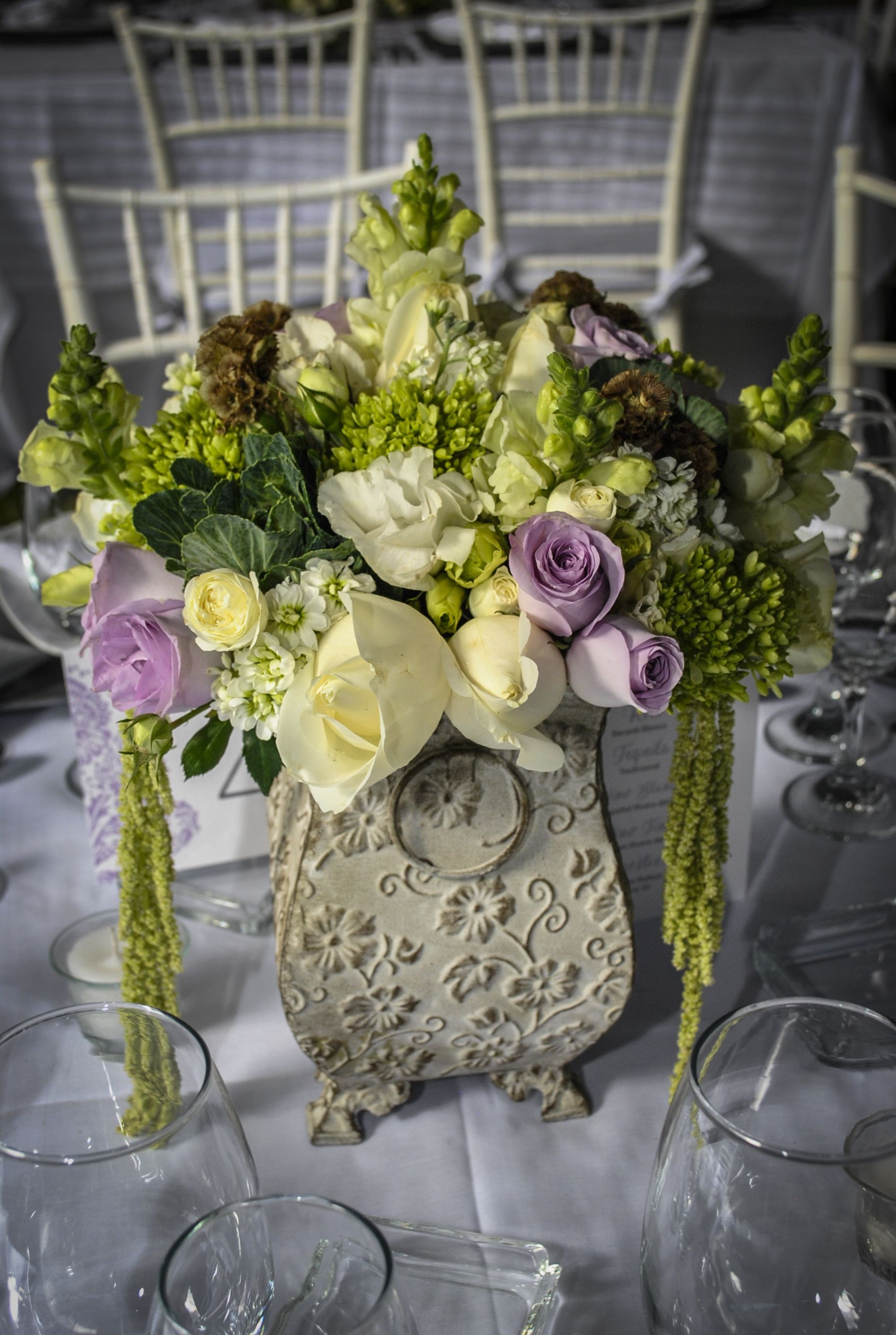 Arreglo Floral Para Bodas Hermosos Detalles Rosas Colores