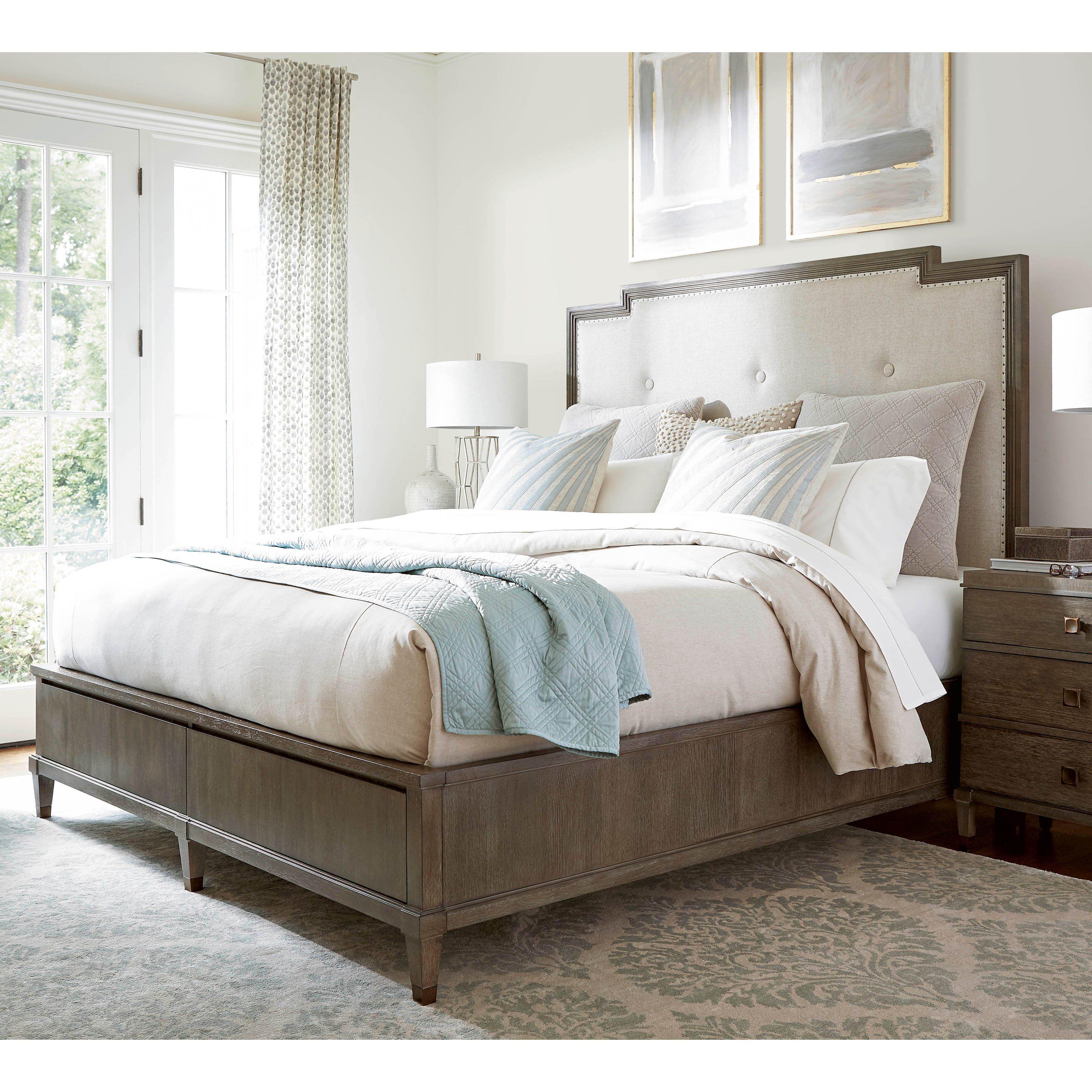 Universal Furniture Playlist Harmony Upholstered Storage Bed ...