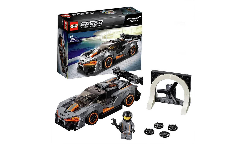 Buy LEGO Speed Champions McLaren Senna Model Toy Car