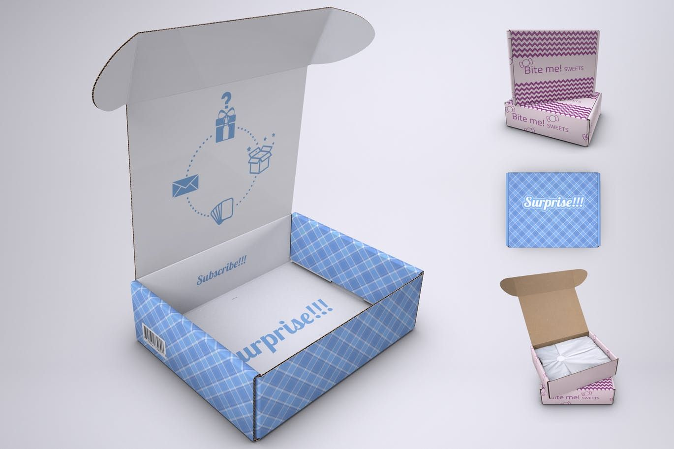 Download Subscription Box Mock Up By Sanchi477 On Envato Elements Subscription Box Design Psd Template Free Subscription Box